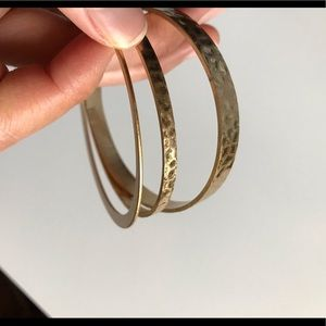 Madewell 3 Set of Bangle Bracelets